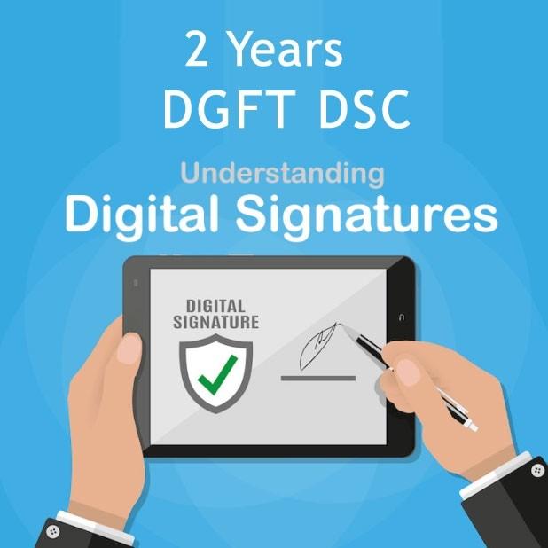 CAPRICORN DGFT DIGITAL SIGNATURE FOR  2 YEARS