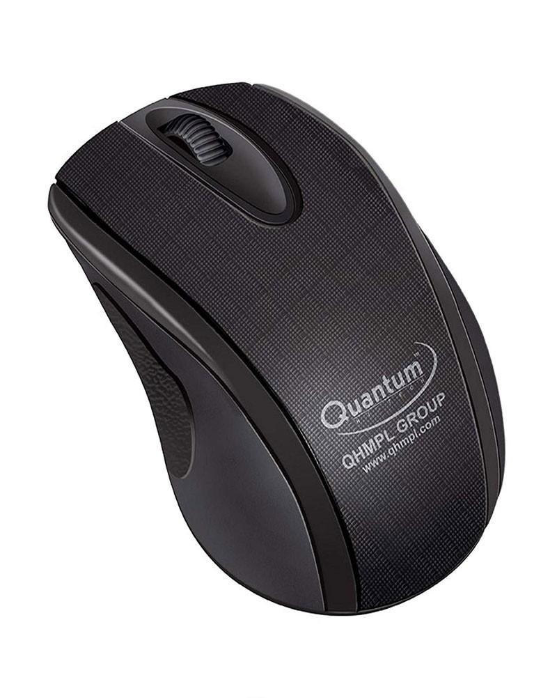 Quantum QHM224D Black USB Wired Mouse