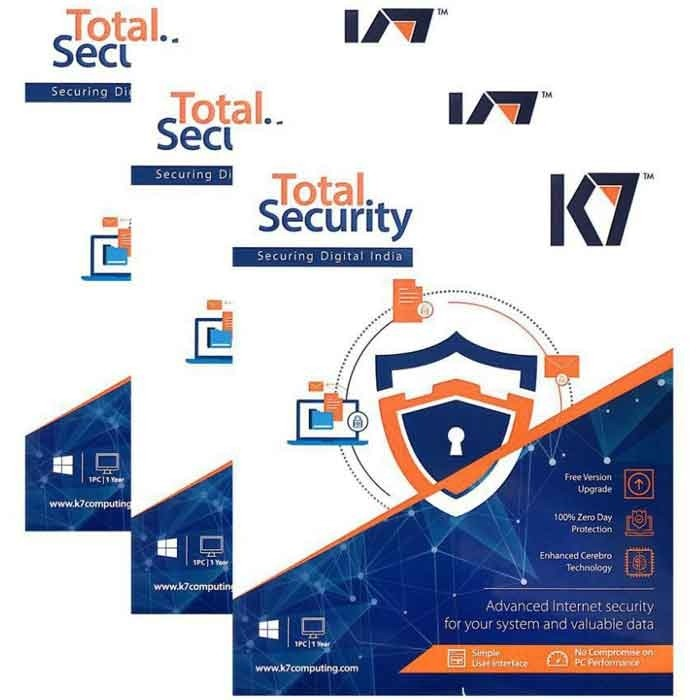 K7 Total Security - 3 Users, 3 Years (CD)