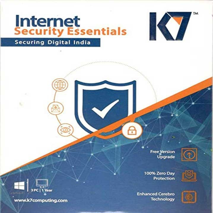 K7 internet Security - 1 Users, 1 Years (CD)