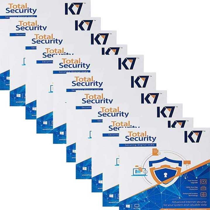 K7 Total Security - 10 Users, 3 Years (CD)