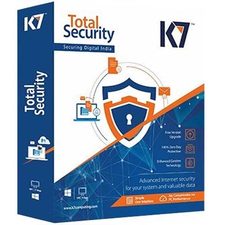 K7 Total Security - 1 Users, 3 Years k7(CD)