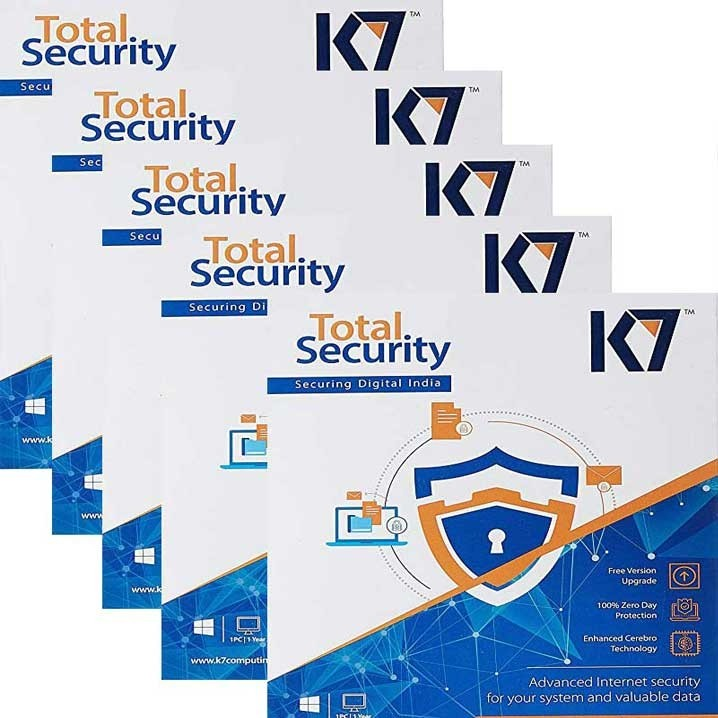 K7 Total Security - 5 Users, 1 Years (CD)